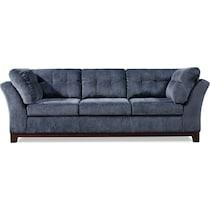 melrose blue sofa