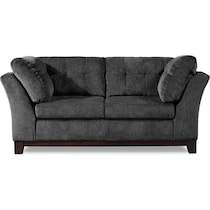 melrose gray loveseat