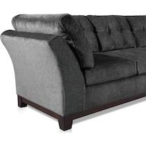 melrose gray sofa