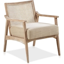 menlo light brown accent chair