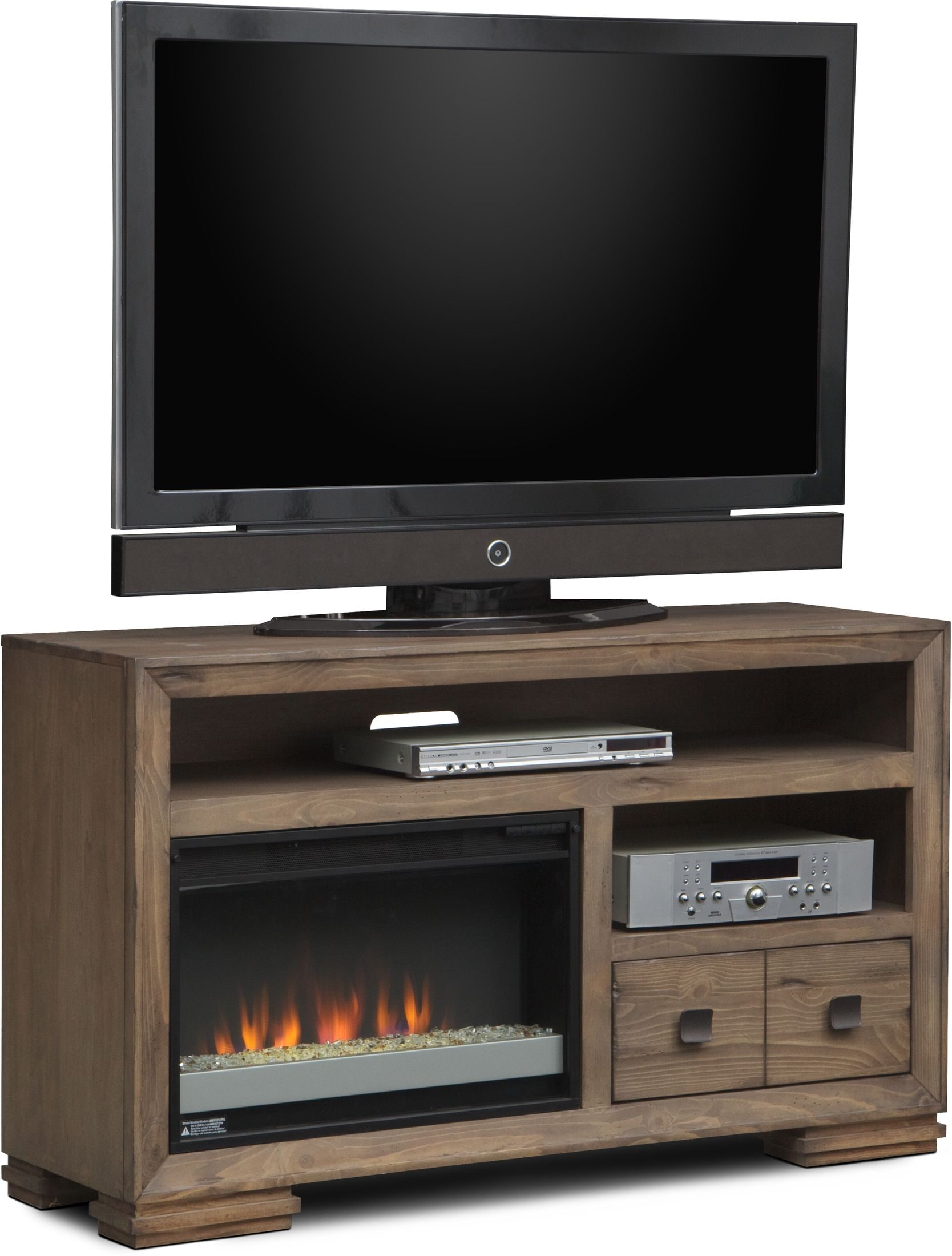 Entertainment Furniture - Mesa Fireplace TV Stand