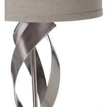 metal lazer metal table lamp