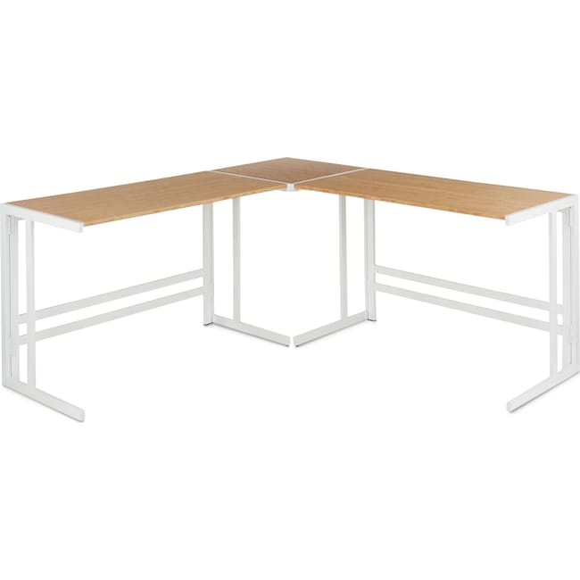 Home Office Furniture - Miles L-Shaped Desk