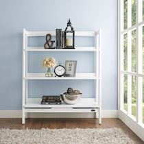 mitch white bookcase
