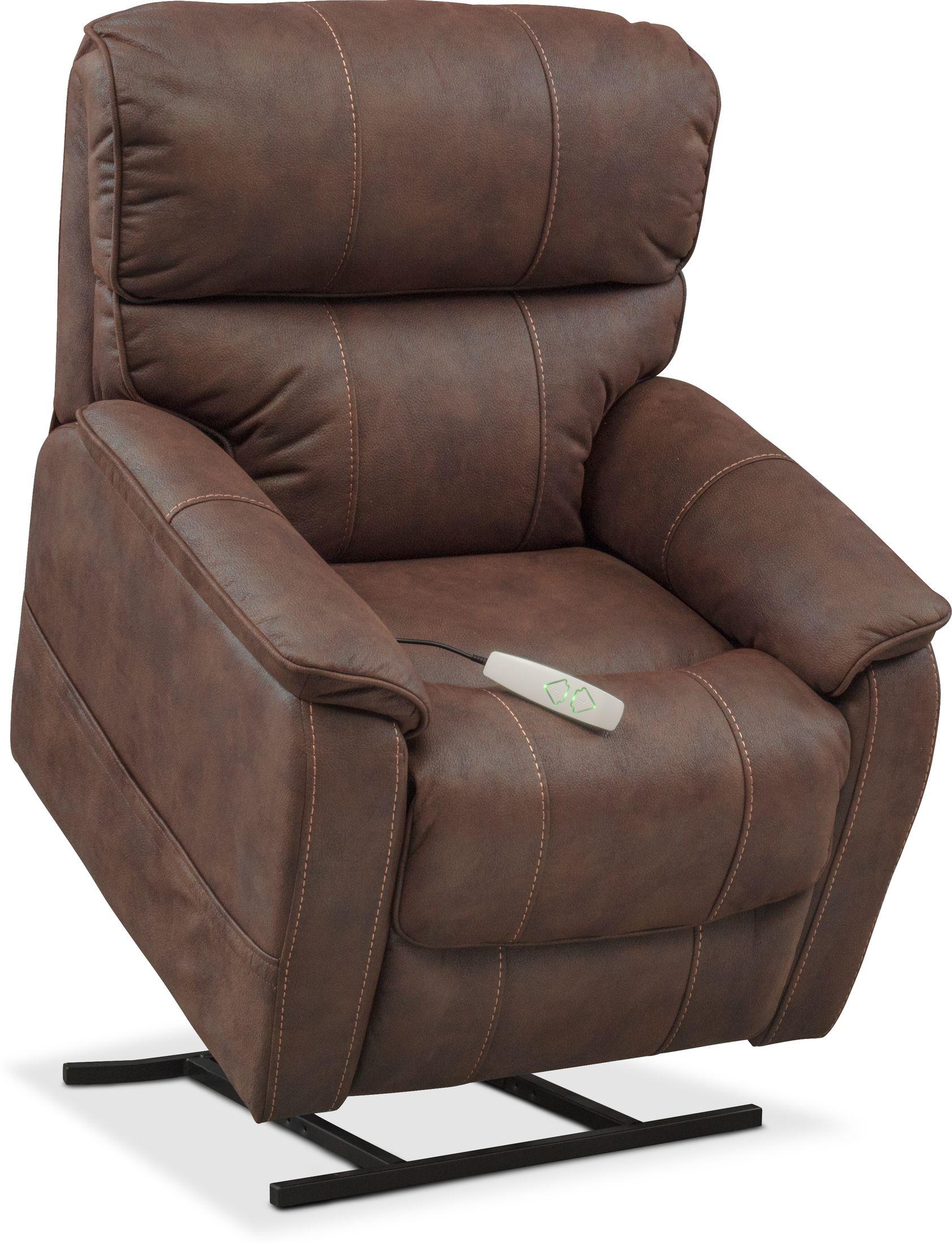 Living Room Furniture - Mondo Power Lift Recliner