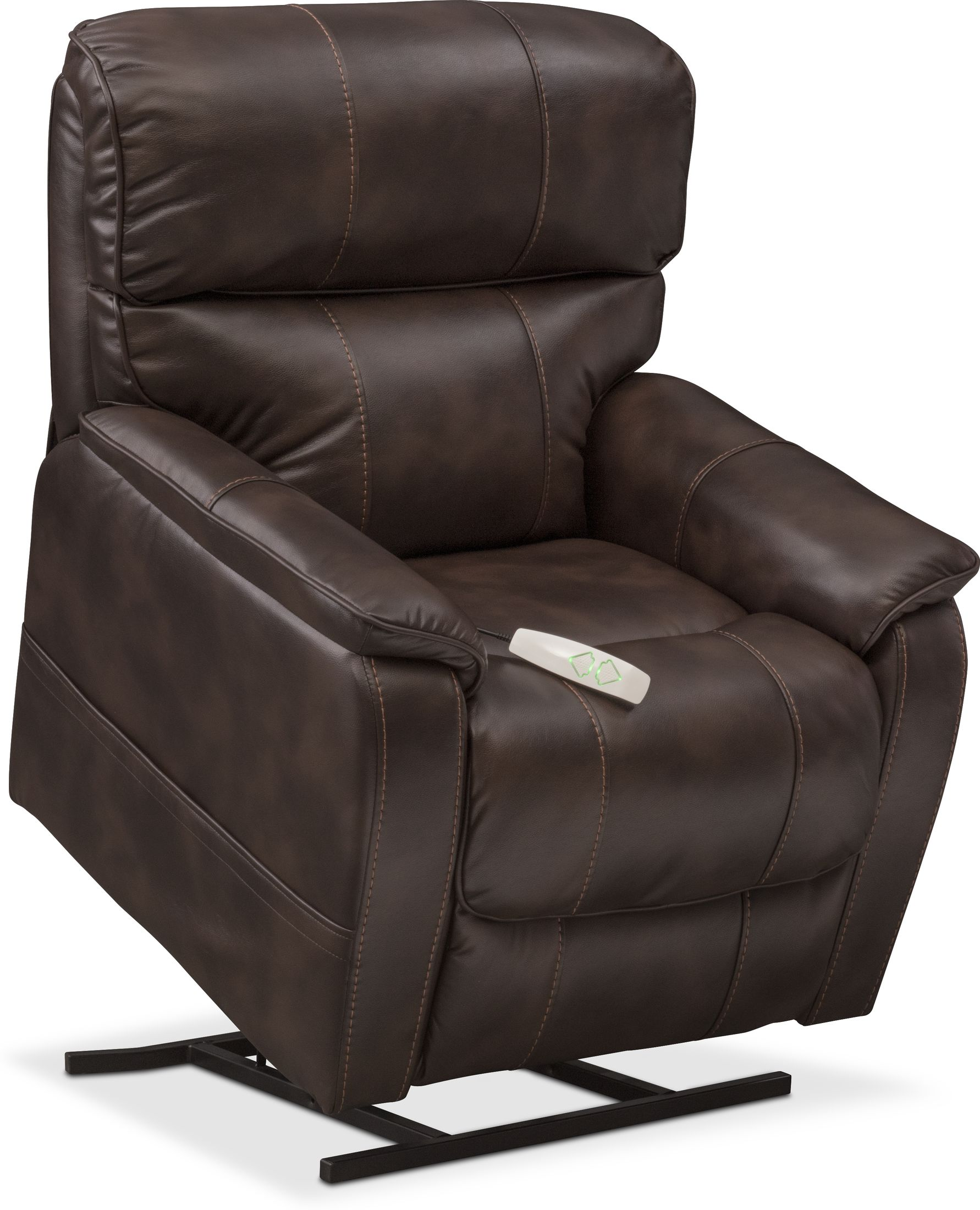 Living Room Furniture - Mondo Power Lift Recliner