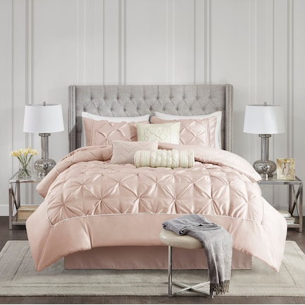 Monet Full Comforter Set