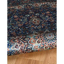 mongo blue area rug ' x '