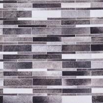 monochromal gray area rug ' x '