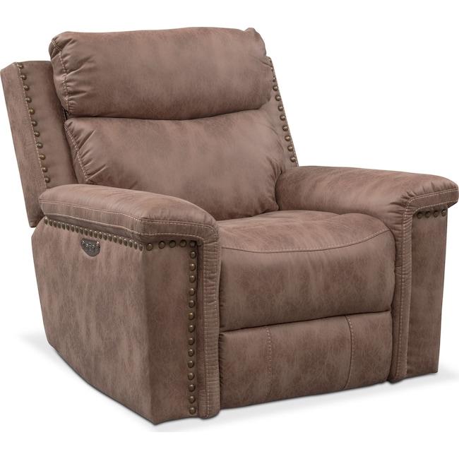 Living Room Furniture - Montana Dual-Power Recliner
