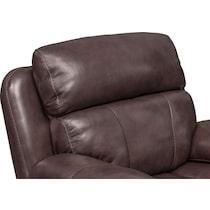 monte carlo dark brown power recliner