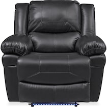 monza manual black manual recliner