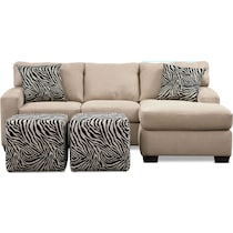 nala light brown  pc living room