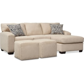 Get Naeva 2 Piece Sectional Living Room Collection