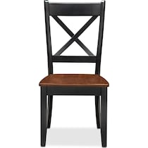 nantucket dining cherry black and cherry dining chair