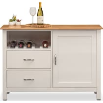 nantucket dining maple maple and white server