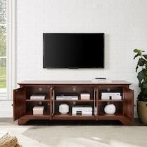 nathaniel dark brown tv stand