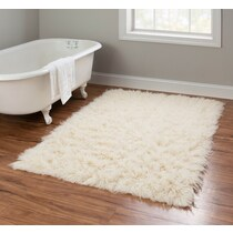 natural neutral area rug ' x '