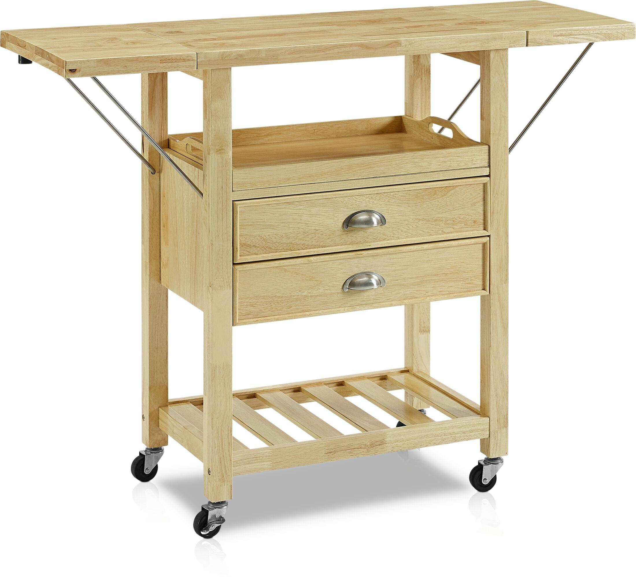 Dining Room Furniture - Nell Drop-Leaf Kitchen Cart
