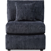 nest gray armless chair