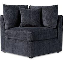 nest gray corner chair