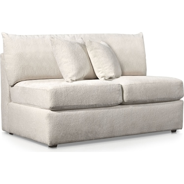 Nest Armless Loveseat - Ivory