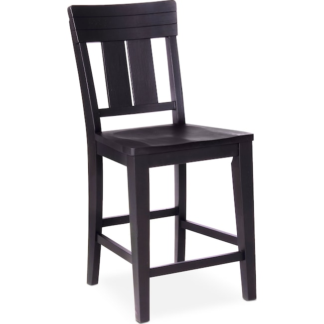 Dining Room Furniture - New Haven Counter-Height Slat-Back Stool