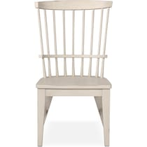 new haven white side chair