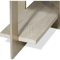 odessa gray console table