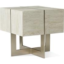 odessa gray end table