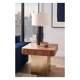 Oiled Bronze Table Lamp