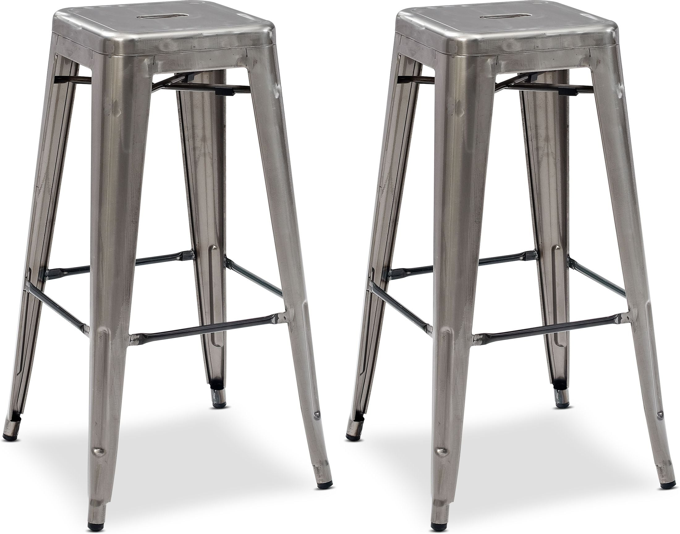 Dining Room Furniture - Oliver Set of 2 Bar Stools