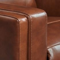 oliver dark brown power reclining sofa