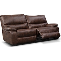 orlando ii brown power reclining sofa