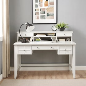 Palmer Desk with Hutch