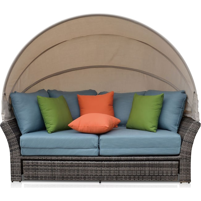 Outdoor Furniture - Palmetto Outdoor Daybed