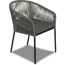 paloma black outdoor dinette