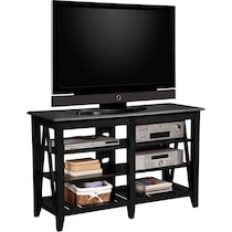 plantation coastal black tv stand