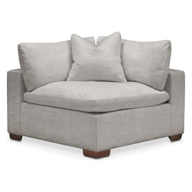 Plush Corner Chair