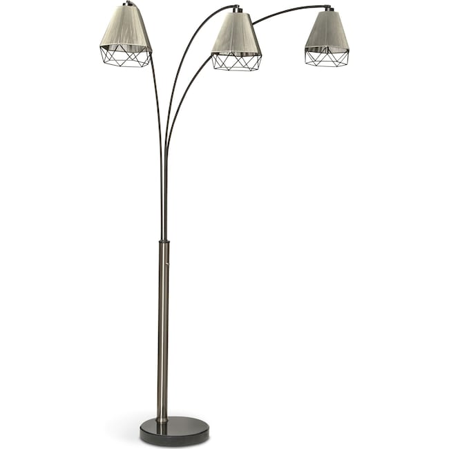 Home Accessories - Polygon Arch Floor Lamp