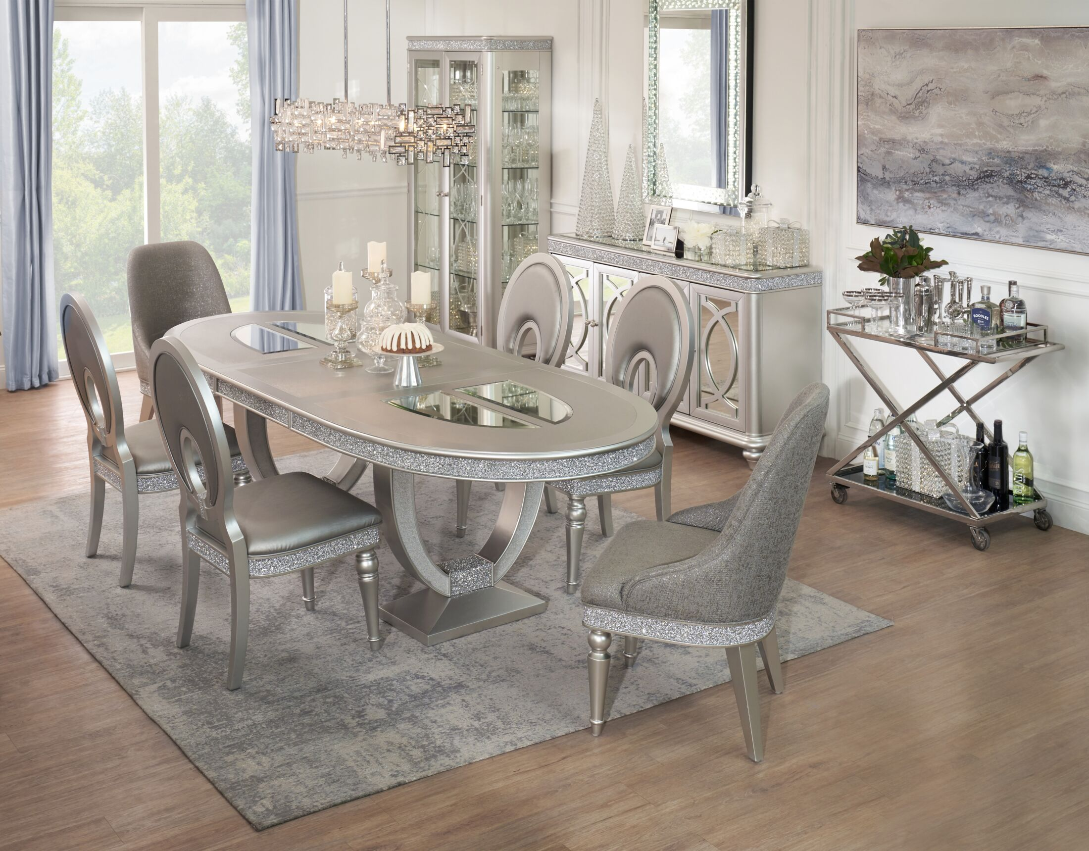 The Posh Dining Collection, Value City Dining Room Furniture