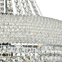 primo glass chandelier