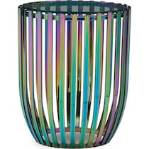 prism multicolor end table