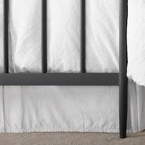 raven black queen bed