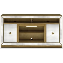reflection entertainment mirrored tv console