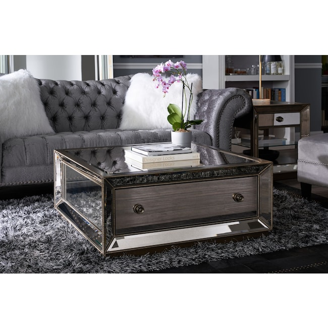 Reflection Coffee Table Value City Furniture And Mattresses