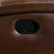 remi dark brown manual recliner