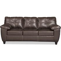 ricardo brown living room dark brown sofa