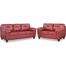 ricardo cardinal red  pc living room
