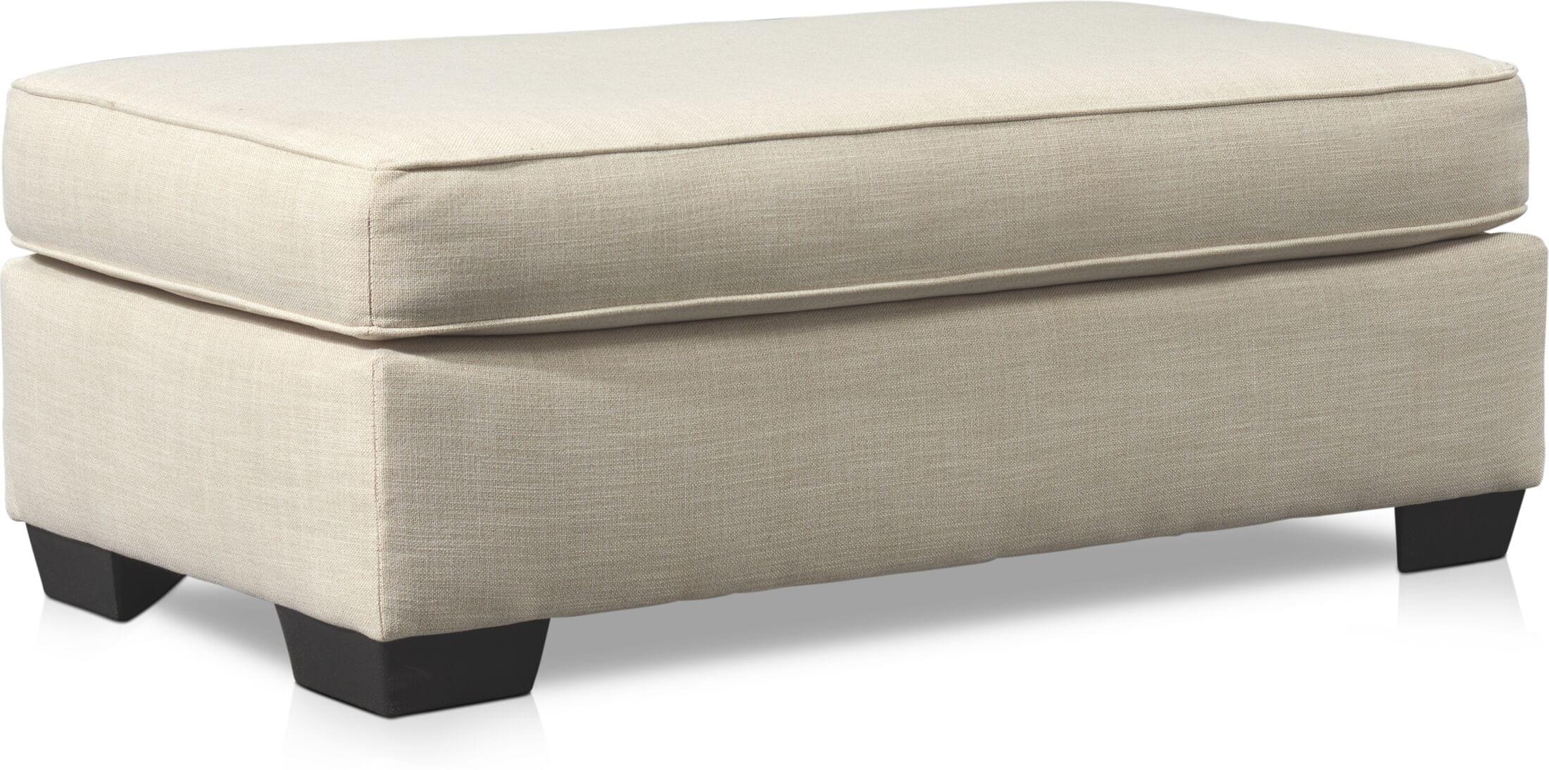 Living Room Furniture - Riley Ottoman